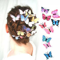 Wedding Butterfly Mini Hair Accessories Headpiece Barrette Hairpins Hair Clips