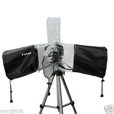 Photo Studio Digital SLR Camera and Flash Unit Rain Cover Rain Coat by Fulant