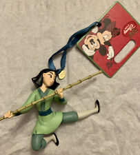 2013 Disney Store Official MULAN Warrior Movie Sketchbook Ornament HandPaint NWT