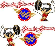 WONDER WOMAN DECAL GRAPHIC VINYL SIDE CAR TRUCK