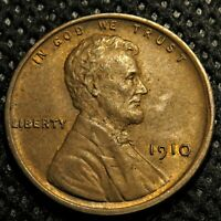 Uncirculated 1910 Lincoln Wheat Cent