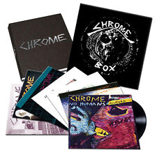 Chrome Box Damon Edge Helios Creed Vinyl 7 LP set Dig it TV EYE RARE Limited