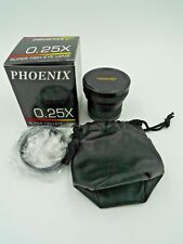 PHOENIX 0.25X SUPER FISH EYE LENS WITH THREADS
