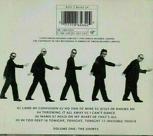 AS NEW ; GENESIS 'LIVE' - THE WAY WE WALK - THE SHORTS CD. SEE CD 2 ALSO. SUPERB
