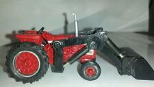 1/64 ERTL custom ih international farmall 706 wide front tractor loader farm toy