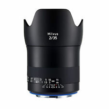 Zeiss Milvus 35mm f/2 ZE (for Canon) Lens *NEW*