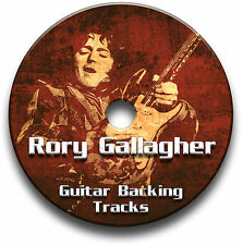 RORY GALLAGHER BLUES ROCK STYLE GUITAR BACKING TRACKS AUDIO CD JAM TRAXS