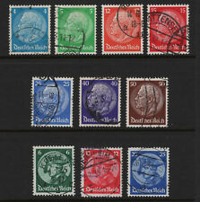 OPC 1932-3 Germany Sets Sc#391-400 Mi#467-473 479-481 Used Sound VF 28116