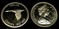 1967 Centennial Gem $1.00 Canada Goose Silver Dollar .800 Silver • Proof Like