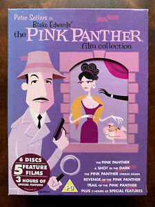 Pink Panther Film Collection DVD Box Set Peter Sellers 5 Movie Comedy Classics