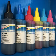 6*100ml Refill Printer Ink Fits EPSON STYLUS PHOTO P50 PX650 W PX700 W PX710 W