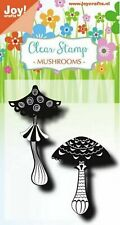 Joy!Crafts, Clear Stamp,  Mushrooms, Pilze, 2tlg., 0492