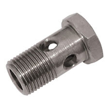 HYDRAULIC HOSE CONNECTORS - M18 X 1.5MM MALE BANJO BOLT HEX HEAD ST 1-10167