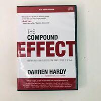 The Compound Effect Darren Hardy 6 CD Audio Program Unused Opened Audio 6 Books