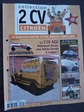 "FASCICULE 89 CITROEN 2CV AZU ""CHOCOLAT"" DE 1955"