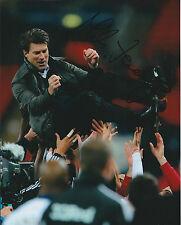 Michael LAUDRUP Autograph 10x8 Photo AFTAL COA Premier League Manager Genuine