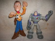Disney Toy Story Buzz & Woody Large Cake Topper Or Toy Figure