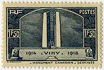"FRANCE N°317 ""MONUMENT DE VIMY, 1 F 50"" NEUF xTB"