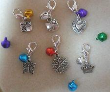 Pet Cat Dog Collar Charm Bell Various charms + bells