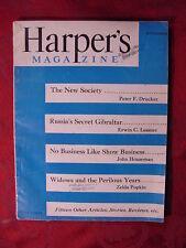 HARPER'S September 1949 JOHN HOUSEMAN PETER F. DRUCKER JOYCE CARY MARIO PRODAN