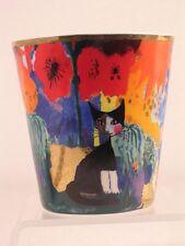 Goebel R.Wachtmeister 'Serafina'-Cat Dream Votive Tealight Holder  #128175  NEW!