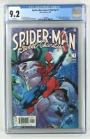 Spiderman Sweet Charity #1 CGC Grade 9.2 Jay Leno appearance Marvel Comics 2002