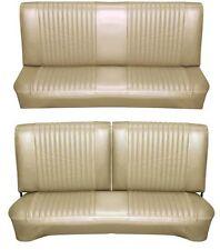 65 Falcon Futura Hardtop Full Upholstery Set w/ Split Bench Seat, Palomino
