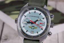 Wrist watch Poljot Chronograph Sturmanskie Soviet Watch, Vintage watch, cal.3133