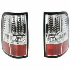 StyleLine LED Tail Light For 2004-2006 Ford F-150 Styleside Chrome Interior 2Pcs