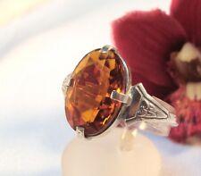 Zauberhafter Ring mit Stein 835 Silber kleiner Siegelring ? / be 010