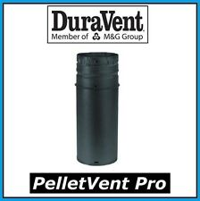 "Duravent Pelletvent Pro Black Pipe Length 3"" Diameter x 6"" Long #3Pvp-06B New!"