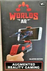 Worlds AR Gun Blaster Augmented Reality  Gaming Blaster Edition factory sealed