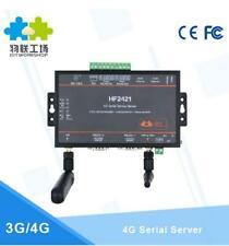 Double Port Serial Device Server RS232 RS485 RS422 to Ethernet Wifi 4G/3G/GPRS