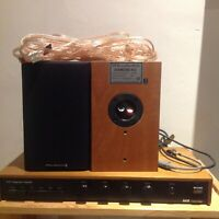 A&R Cambridge A60 Integrated Amplifier Wharfdale 9.0 Cable