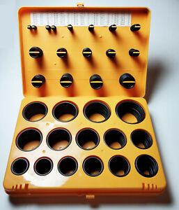 O-RING METRIC KIT BUNA 30 SIZES 386 PC NITRILE O-RINGS NBR N70