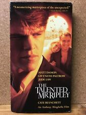 The Talented Mr.Ripley - Vhs