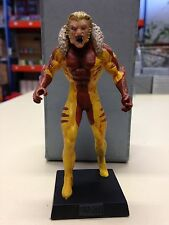 SABRETOOTH ACTION FIGURES MARVEL - EAGLEMOSS LEAD COMICS HEROES COLLECTION 084