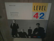 """LEVEL 42 lessons in love 12"""" MAXI 45T"""