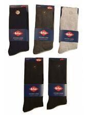 Lee Cooper lot de 5 paires de chaussettes homme angora laine