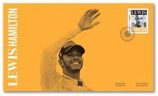 FORMULA 1 = F1 British racing champion LEWIS HAMILTON, FDC, OFDC Canada 2017