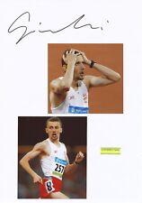 Pawel Czapiewski  Polen  Leichtathletik  Karte signiert WL 346470