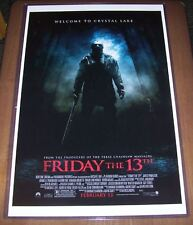 Friday the 13th Remake Michael Bay 11X17 Movie Poster Derek Mears