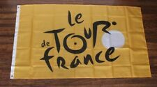 Le Tour de France Banner Flag French Bike Race Cycling Biking Store Yellow New