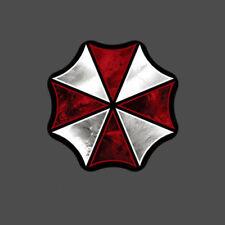 reflektierend sticker Aufkleber UMBRELLA CORPORATION redident evil logo 21 cm