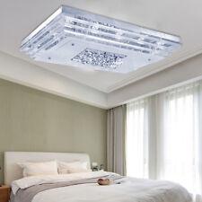48W Kristall LED Deckenlampe Deckenleuchte Pendelleuchte Flur Wandlampe Kaitweiß