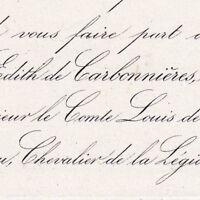 Edith Carbonnières De Saint-Brice 1858 Louis De Marcé