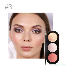 1pc Beauty Makeup Face Cheek Blush Blusher Shimmer Powder Palette Cosmetic QH94