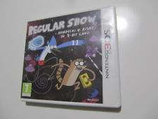 REGULAR SHOW MORDECAI & RIGBY IN 8 BIT LAND 3DS * 3DS XL Pal España BANDAI