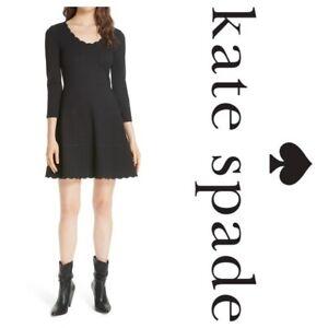 BNWT KATE SPADE Ponte Skater Dress - Size US 6 / UK10 RRP £248