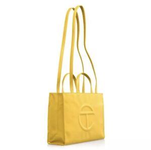 Telfar bag medium Yellow Brand New